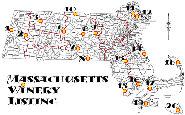 Wineries and Winemakers in Machusetts on